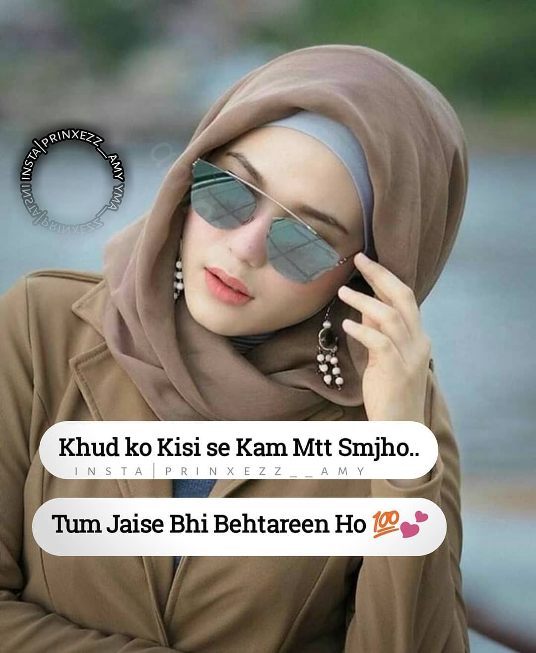 """You are currently viewing ….•☆ عَمَّاْرَهْ ☆•…. on Instagram: """"Hater's hai aapko Bura kehne wale Aap khud ko Be-Misaal Kaho 😻 #follow_for_more  #prinxezz__amy"""""""