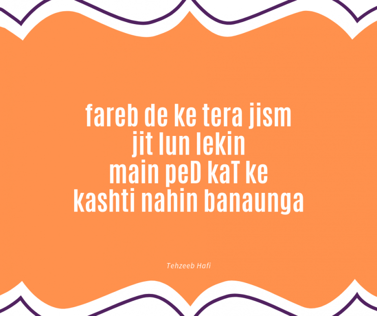 You are currently viewing 19 Best Tehzeeb Hafi Poetry to Read and Adoring the Nature
