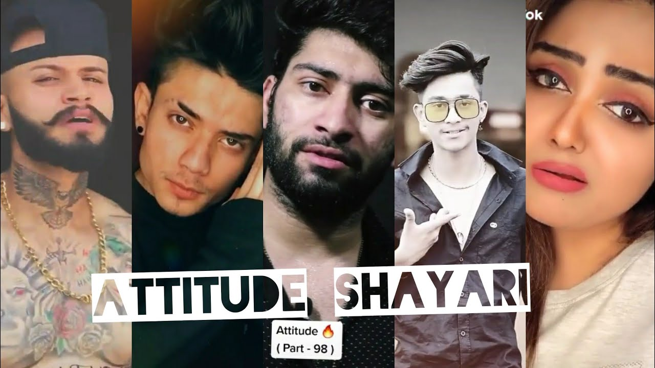 You are currently viewing Attitude Tik Tok Shayari / Trending attitude shayari / Tik tok shayari 2020