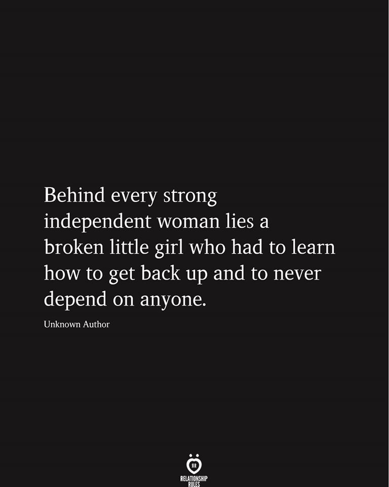 You are currently viewing Behind Every Strong Independent Woman