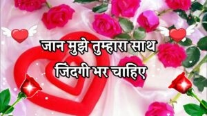 Read more about the article Good Morning Shayari Video 🌹 Good morning love shayari 🌹 I love you meri jaan 🌹 love shayari