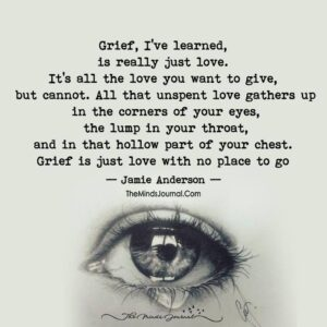 Read more about the article Grief Is Love