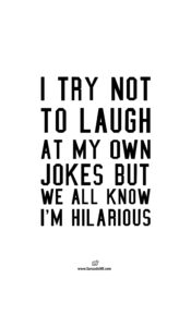 Read more about the article I Try Not To Laugh Unisex T-shirt