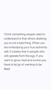 Read more about the article Let Go of Wanting to be Liked..