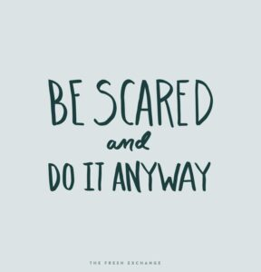 Read more about the article Monday Words: If It Doesn't Scare You… (Fresh Exchange)