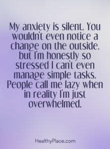 Read more about the article Quotes on Anxiety