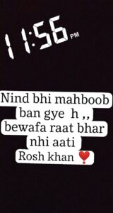 Read more about the article Rosh khan ❣️