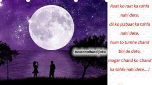 Read more about the article Shayari On Chandni Raat