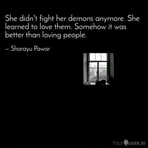 Read more about the article She didn't fight her demo…    Sharayu Pawar   YourQuote
