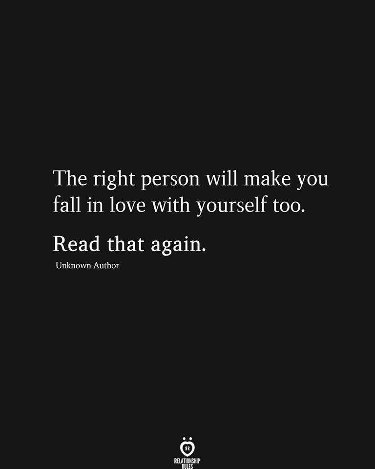You are currently viewing The right person will make you fall in love with yourself too