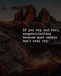 Read more about the article Try And Succeed Quotes