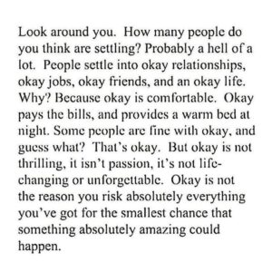 dont settle quotes
