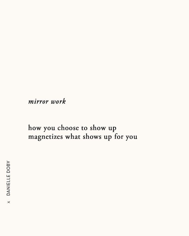 You are currently viewing mirror work how you choose to show up magnetizes what shows up for you