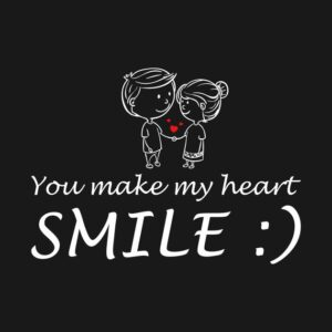Read more about the article you make my heart smile Tshirt by iamvictoria