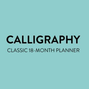 Read more about the article 2021 Calligraphy Quotes Classic Vertical Happy Planner   18 Months   Planners   The Happy Planner   Me & My Big Ideas