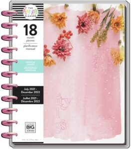 Read more about the article 2021 Pressed Florals Big Vertical Happy Planner   18 Months   Planners   The Happy Planner   Me & My Big Ideas