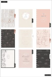 Read more about the article 2021 Sophisticated Florals Classic Vertical Happy Planner   18 Months   Planners   The Happy Planner   Me & My Big Ideas