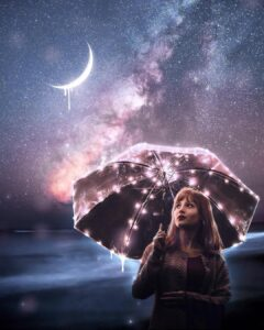 """Read more about the article Adobe Photoshop on Instagram: """"Don't let the stars rain on your parade. #Ps_Opposites post by @owlhorror."""""""