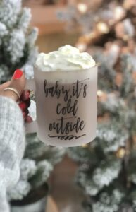 Read more about the article Baby, It's Cold Outside Frosted Mug