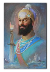 Read more about the article Guru Hargobind Sahib Painting by Sobha Singh – Museum Grade Art Paper / 7.5×11.5