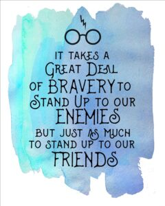 Read more about the article Harry Potter Watercolor Quote Printables