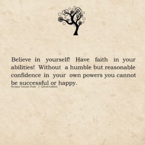 Read more about the article Have faith, believe in yourself that you will make it through. Be humble.  #insp