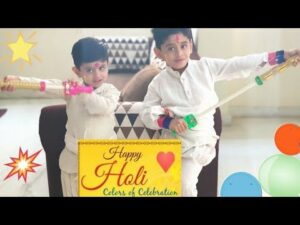 Read more about the article Holi Wishes 2019   My little sunshine wishing you all a Happy Holi…
