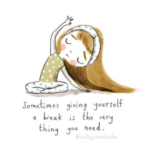 Read more about the article I Draw A Little Yoga Girl With Positive Messages To Remind Myself Of Self-Love And Self-Care (38 Pics)