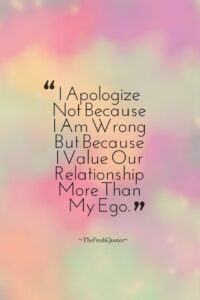 Read more about the article I'm Sorry Quotes & Messages – Apology Quotes