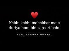 Read more about the article Mohabbat mein duriyan Feat. Anubhav Agrawal | Best Shayari | Motivation in Hindi Poetry