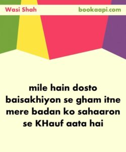 Read more about the article Soulful Wasi Shah Poetry (13 Shayr) that will Touch your Soul