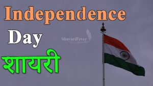 Read more about the article Top 5 Independence Day Shayari in Hindi – 15 Aug 2020 🇮🇳
