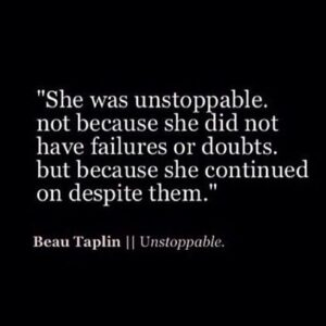 Read more about the article unstoppable
