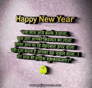 Read more about the article Best Happy New Year Shayari in Hindi – नया साल आये बनके उजाला
