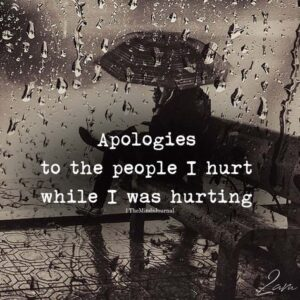 Read more about the article Apologies To The People I Hurt