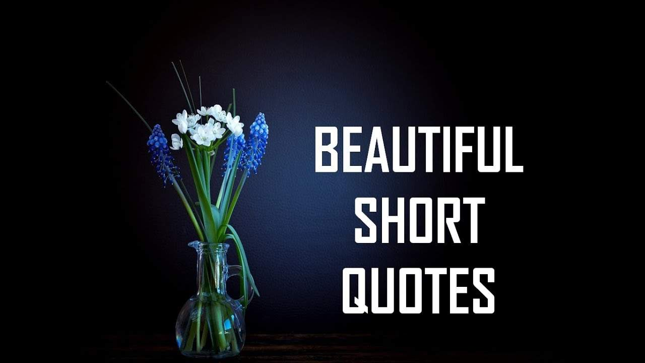 You are currently viewing Beautiful Short Quotes   Life Lessons