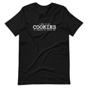 Read more about the article COOKIES T-SHIRT – Black / M