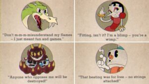 Read more about the article Cuphead | All Boss Quotes & Game Over Screens