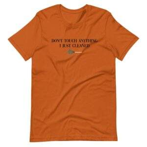 Read more about the article DON'T TOUCH T-SHIRT – Autumn / L