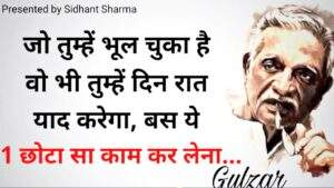 Read more about the article Gulzar poetry   gulzar poetry in hindi   gulzar shayari   hindi shayari   sidhant sharma shayari