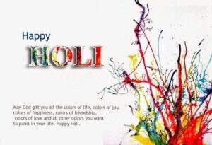 Read more about the article Happy Holi Greetings in English