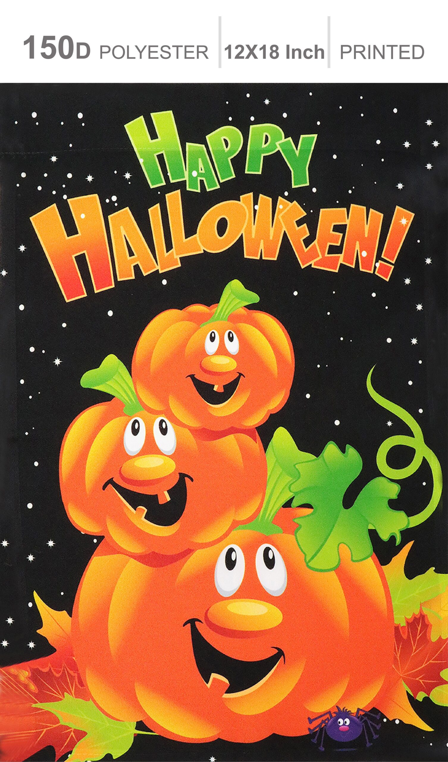 You are currently viewing Home Decorative Halloween Garden Flag 150D Printed Polyester: