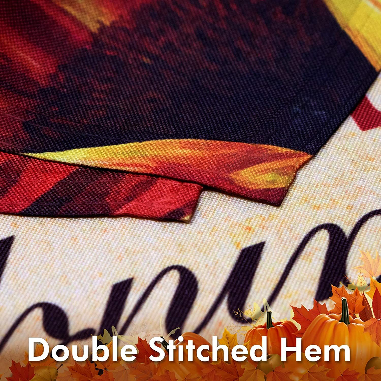 You are currently viewing Home Decorative Thanksgiving Garden Flag 150D Printed Polyester: 12×18 Inch