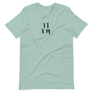 Read more about the article ITEM T-SHIRT – Heather Prism Dusty Blue / S