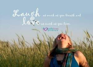 Read more about the article Laugh as much as you breathe and love as long as you live -Johnny Depp Via Wise
