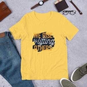 Read more about the article Lifting Others – Short-Sleeve Unisex T-Shirt – Yellow / S
