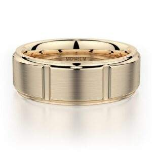 Read more about the article Men's Band MB108 – 14K Yellow Gold