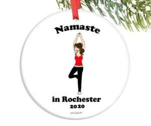 Read more about the article Namaste in 'Hometown' Ornament