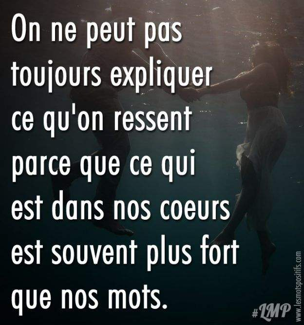 You are currently viewing On ne peut pas toujours expliquer ce qu'on ressent