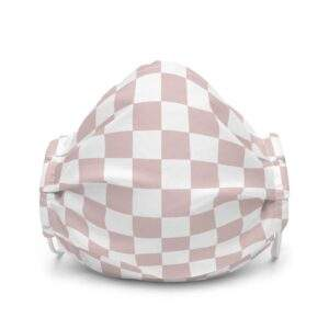 """Read more about the article """"Pink Checkers"""" Premium Face Mask"""